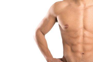 Diastasi dei retti addominali uomo
